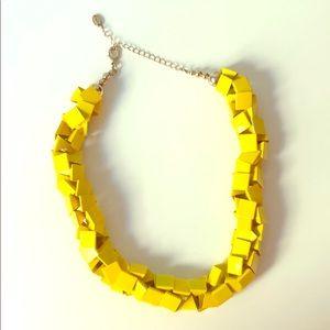 Zara Geometric Yellow Necklace
